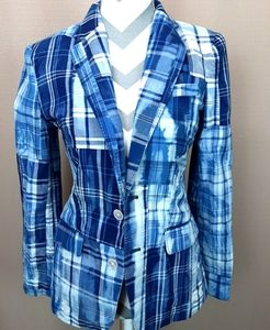NWTPOLO- Ralph LAUREN size 4 blue and white blazer
